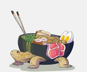animal, anime, and food image