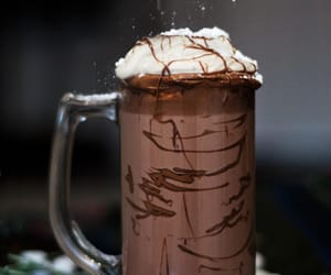 chocolate, sweets, and drink image