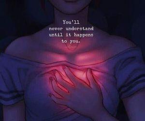 love, heart, and hurt image