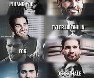 tw, derek hale, and teen wolf image
