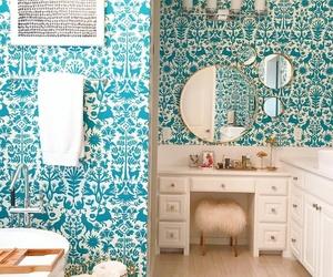 bath, decoracion, and baño image