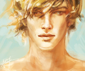 hunger games, finnick odair, and finnick image