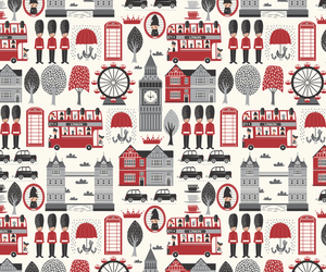 background, london, and pattern image