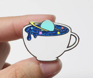 pins, blue, and space image