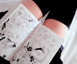 manga, grunge, and sailor moon image