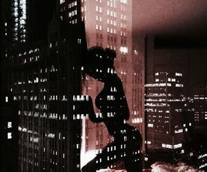 city, body, and night image