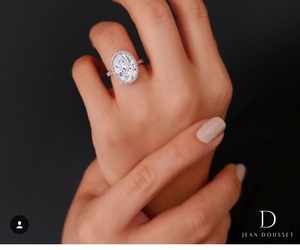 diamond, hands, and engagement image