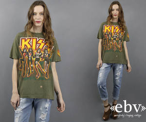 90s, kiss army, and etsy image