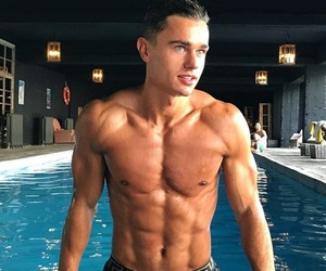 abs, guys, and Hot image