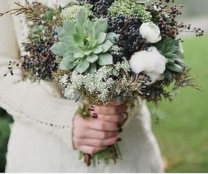 bouquet, wedding, and unique image