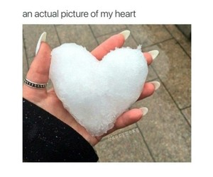 heart, cold, and funny image