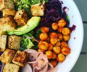 bowl, vegan, and Buddha image