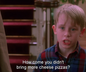 home alone and pizza image