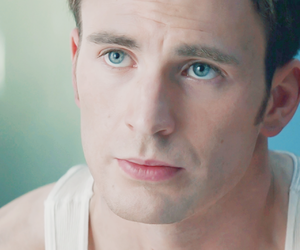 chris evans, captain america, and header image