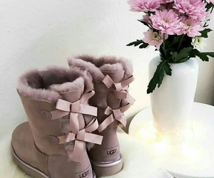 fashion, style, and uggs image