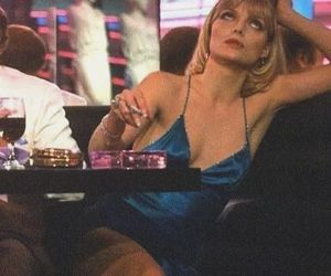 blue, sexy, and cigarette image