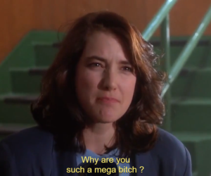 bitch, Heathers, and text image