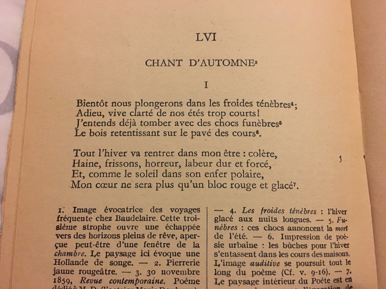 Chant Dautomne Charles Baudelaire On We Heart It