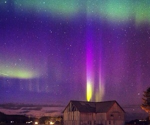 northern lights and norway image