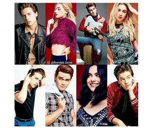 cast, cole sprouse, and riverdale image