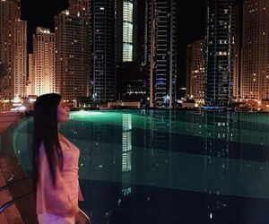 city, girl site model, and luxury+noir+shoe image