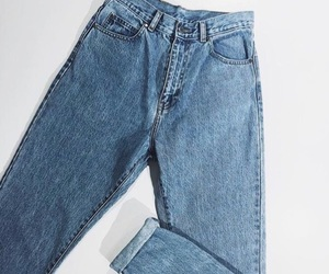 jeans, aesthetic, and blue image
