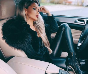 beautiful, black, and clothes image