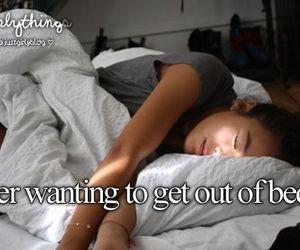 bed, justgirlythings, and sleep image