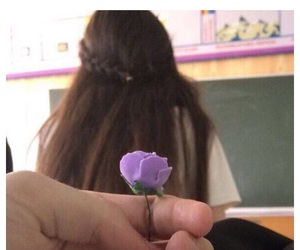 couples, flowers, and school image