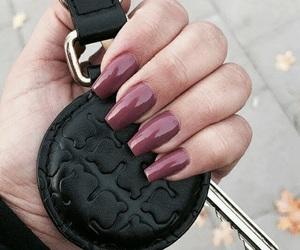 nails and dark image