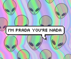 alien, background, and fashion image