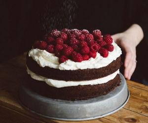 cake, photography, and chocolate image
