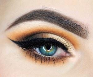 day, eye, and eyebrows image