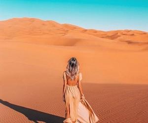 adventure, blu, and desert image