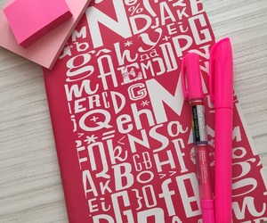 notebook, school, and postit image
