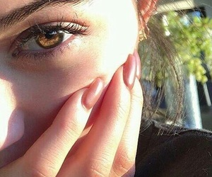 browns, eye, and olho image