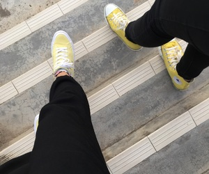 all star, chuck taylor, and street style image