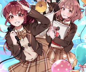 anime, anime girl, and handsome image