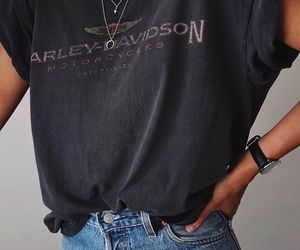 style, vintage, and t shirt image