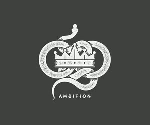 slytherin, ambition, and crown image
