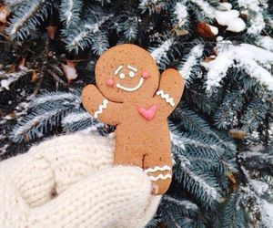 beauty, snow, and christmas image