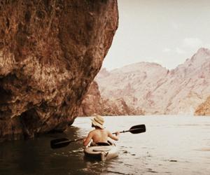 adventure, kayak, and wild image