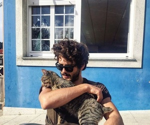 actor, handsome, and animal image