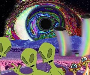 acid, alien, and lsd image