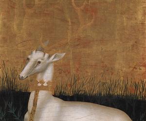 art, renaissance, and deer image