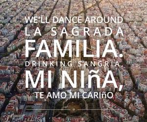 Barcelona, ed, and Lyrics image
