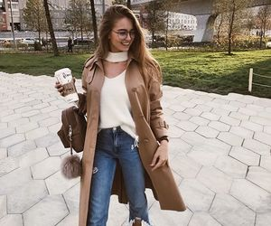coat, style, and ootd image