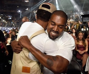 kanye west and chance the rapper image