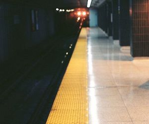 lights, underground, and subway image