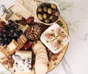 fig, cheese, and dinner image
